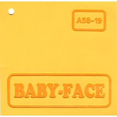 Baby-face A58-19 жёлтый