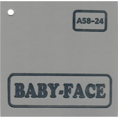 Baby-face A58-24 серый