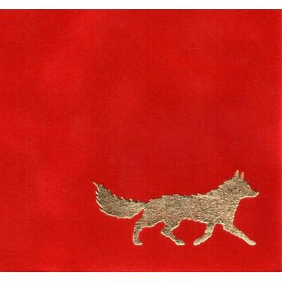 Флок-бумага DAINEL SG 2848 (красная)