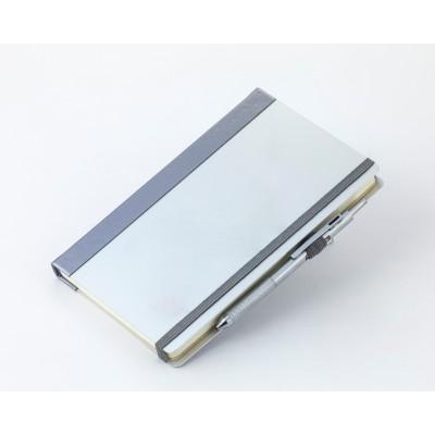 Блокнот «Аля'скин» А5 Минус, Aluminium