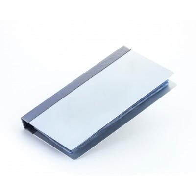 Визитница 4-х скобная, Aluminium