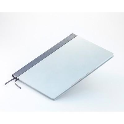 Деловой блокнот А4 белый, Aluminium