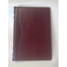 Обложка для ежедневника А5 формата из кожи