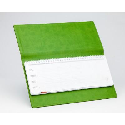 Планинг ДАТ белый с зеленой обложкой