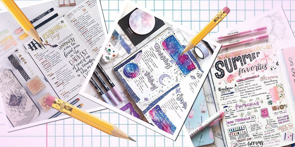 Как красиво оформить ежедневник